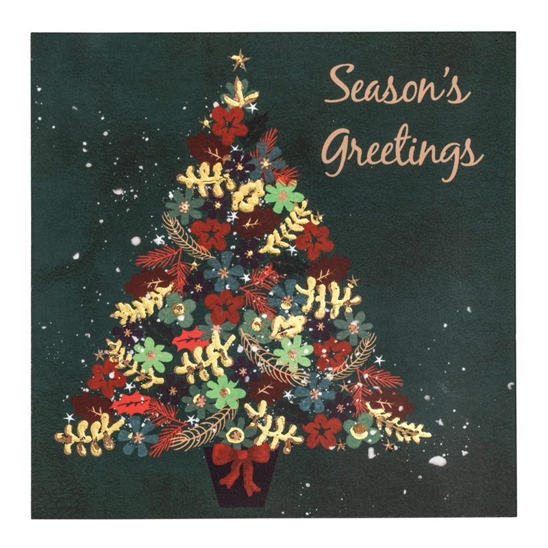 uk christmas cards  large picture illustration only